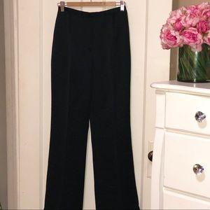 Ann Taylor Black Satin Pants